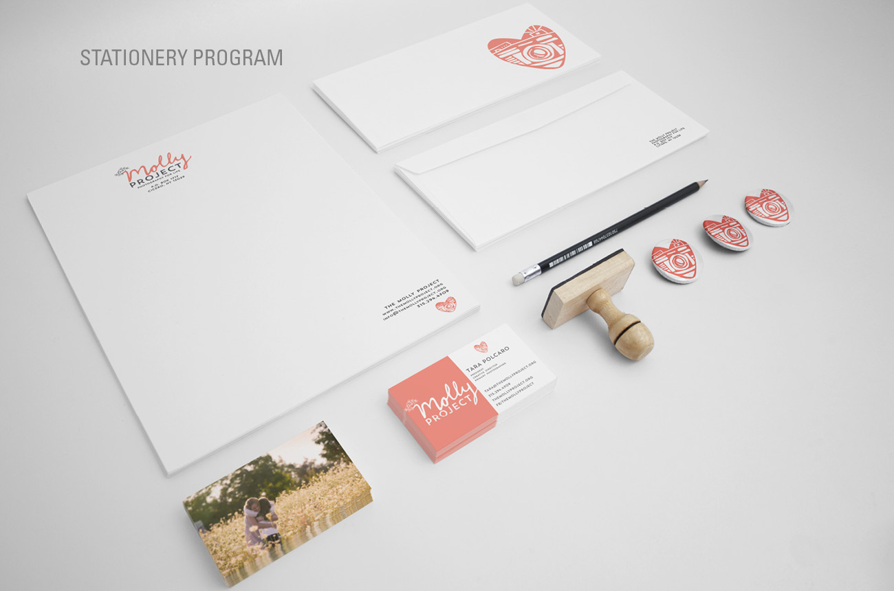 The Molly Project Brand Identity Program Stressdesign Website Brand Identity 010 Stationery.jpg
