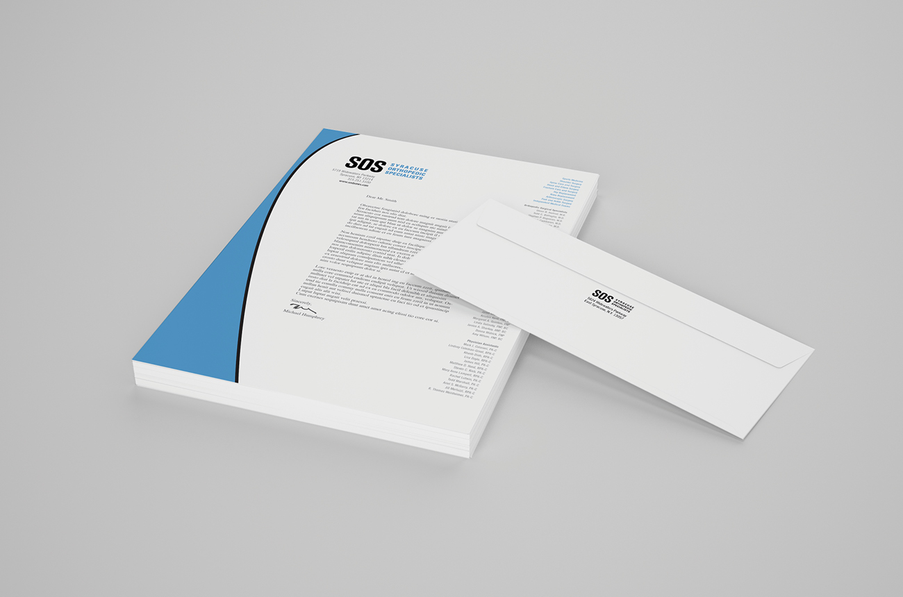 SOS Brand Identity Portfolio Syracuse Design Firm Stressdesign Business Stationery Program, Business Cards