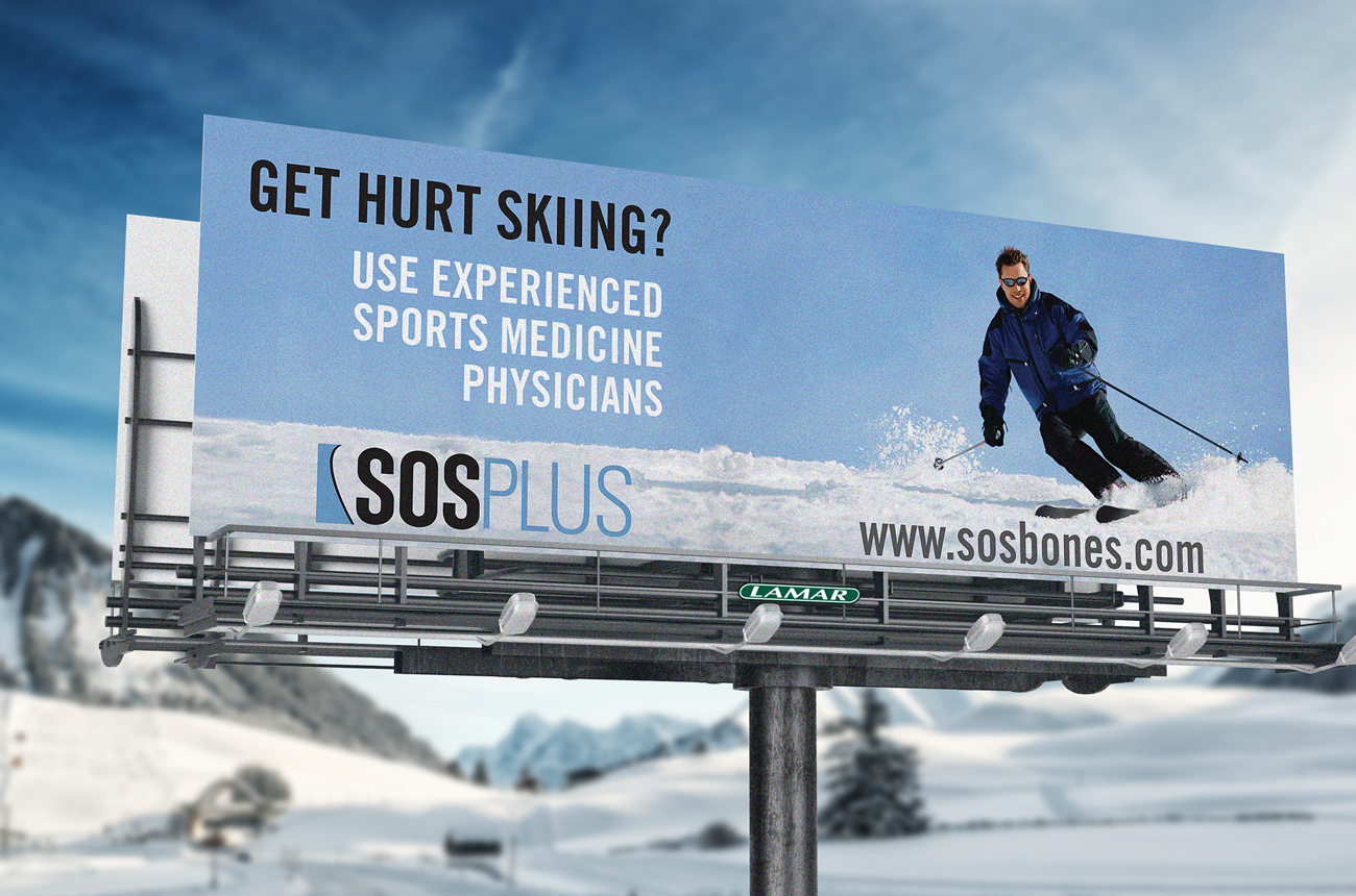 SOS Brand Identity Portfolio Syracuse Design Firm Stressdesign Outdoor Advertising