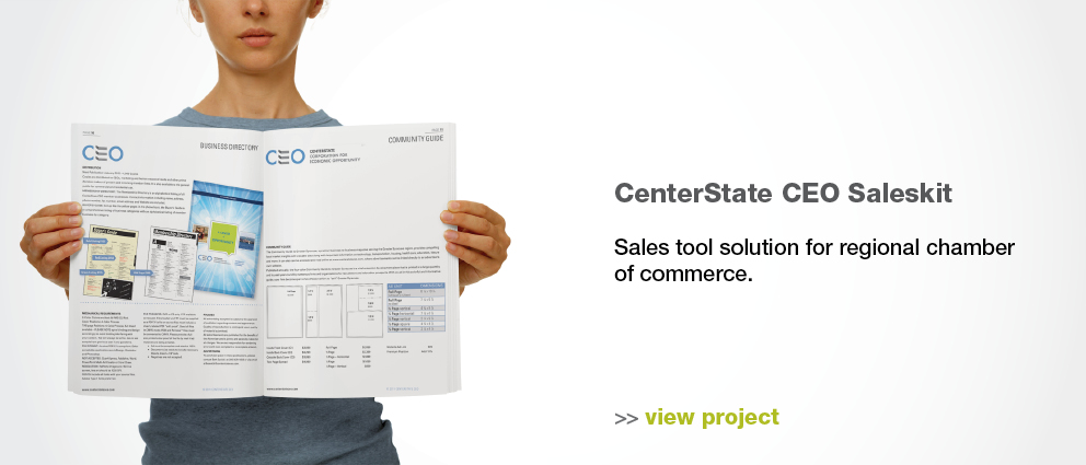 Flexible sales kit solution.