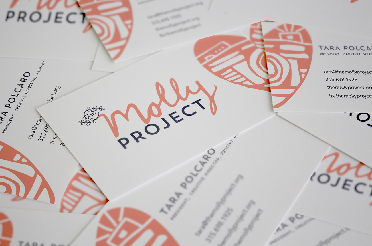 The Molly Project Brand Identity Program Stressdesign Website Brand Identity 012 BusinessCards.jpg